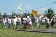 Přivítání jednotlivých obcí